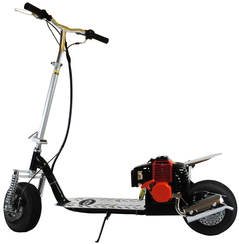 49cc Petrol Foldable Scooter With Suspension - 50cc 2 Stroke - top speed  35km/h!