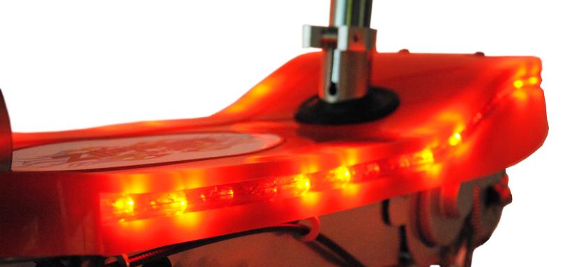 led lights impressive led lighting deck high quality abs deck