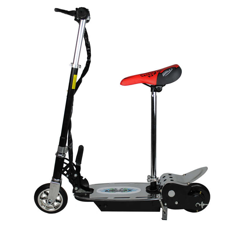 120w electric scooter for kids metal deck folding with. Black Bedroom Furniture Sets. Home Design Ideas