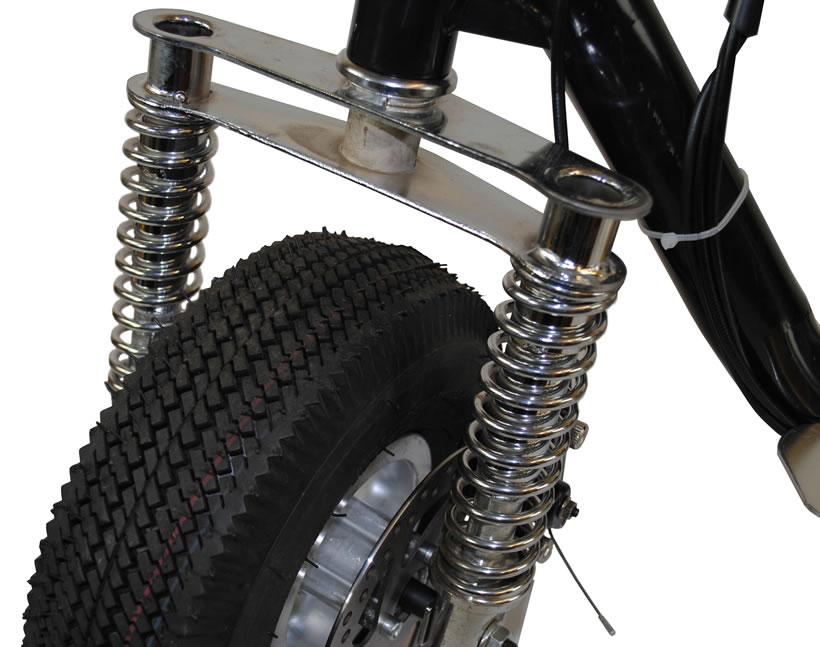 Mini Bike Seat Shocks : Budget cc mini petrol scooters with suspension